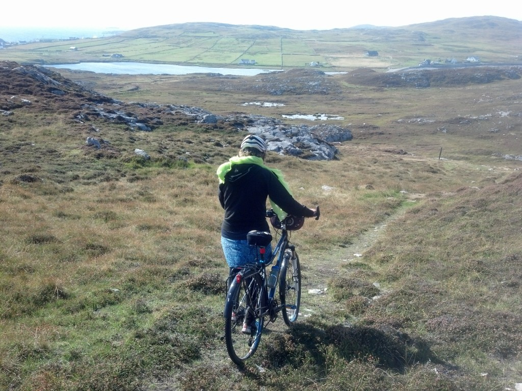 Finding the trail again! Aran Islands
