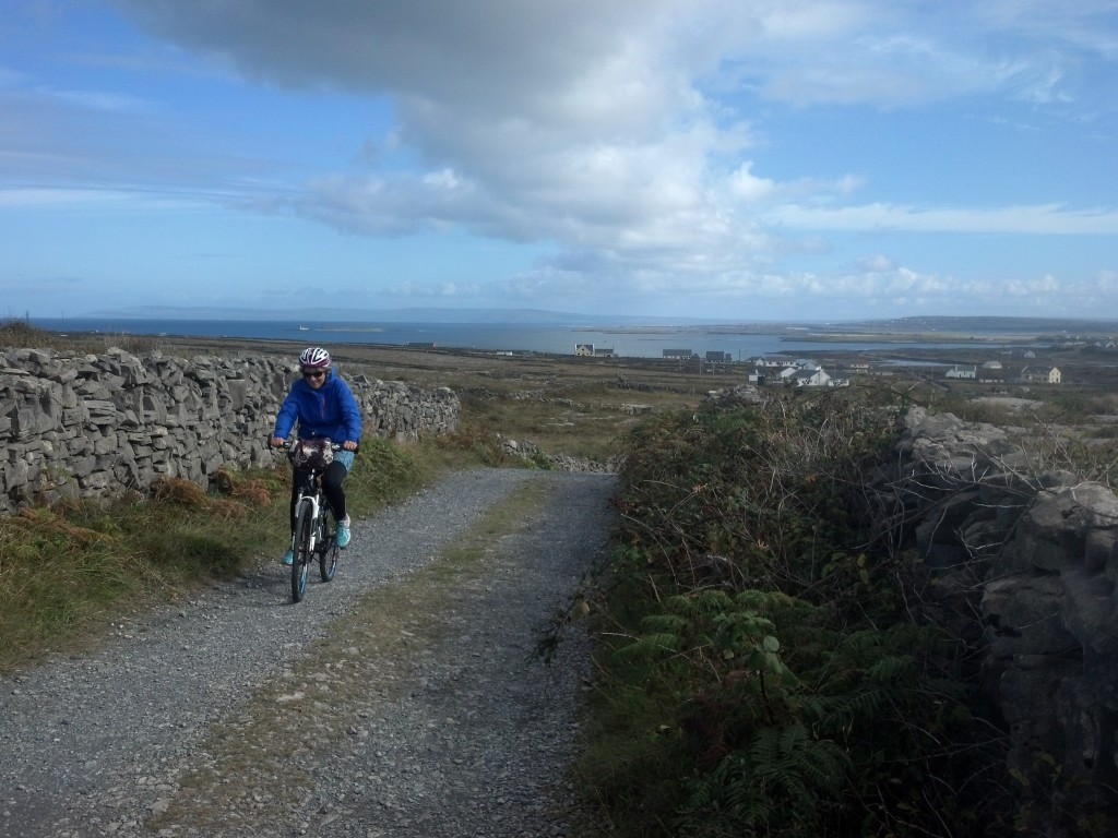 Heading to the fort, Aran Islands