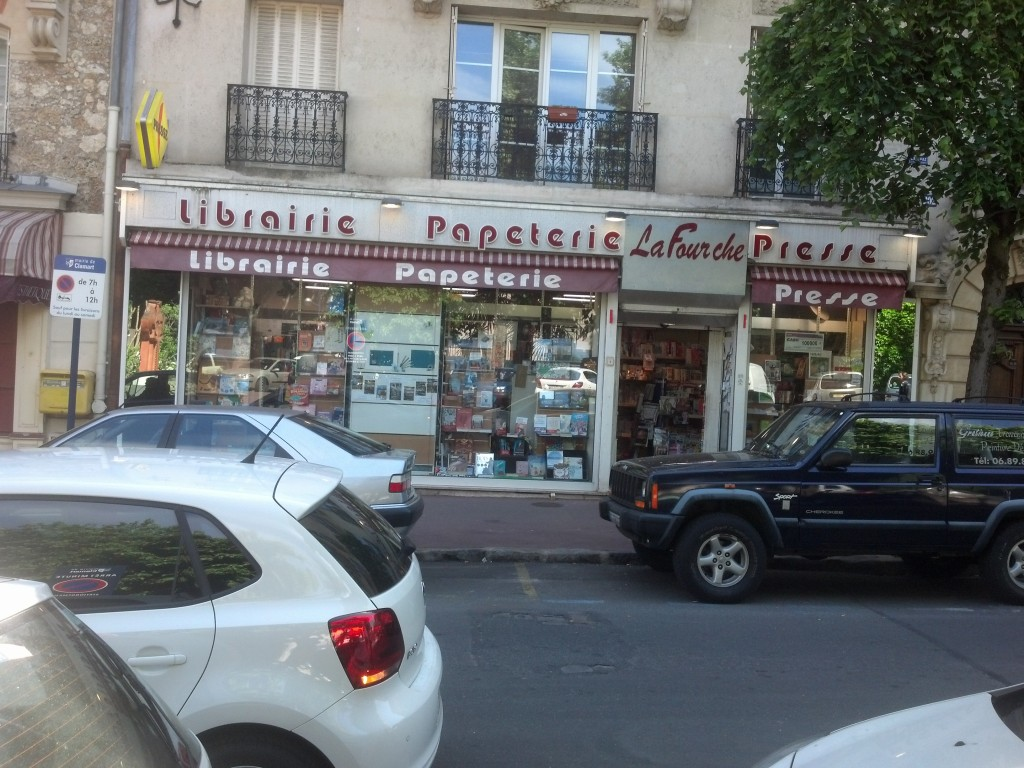 Stationery store in Clamart