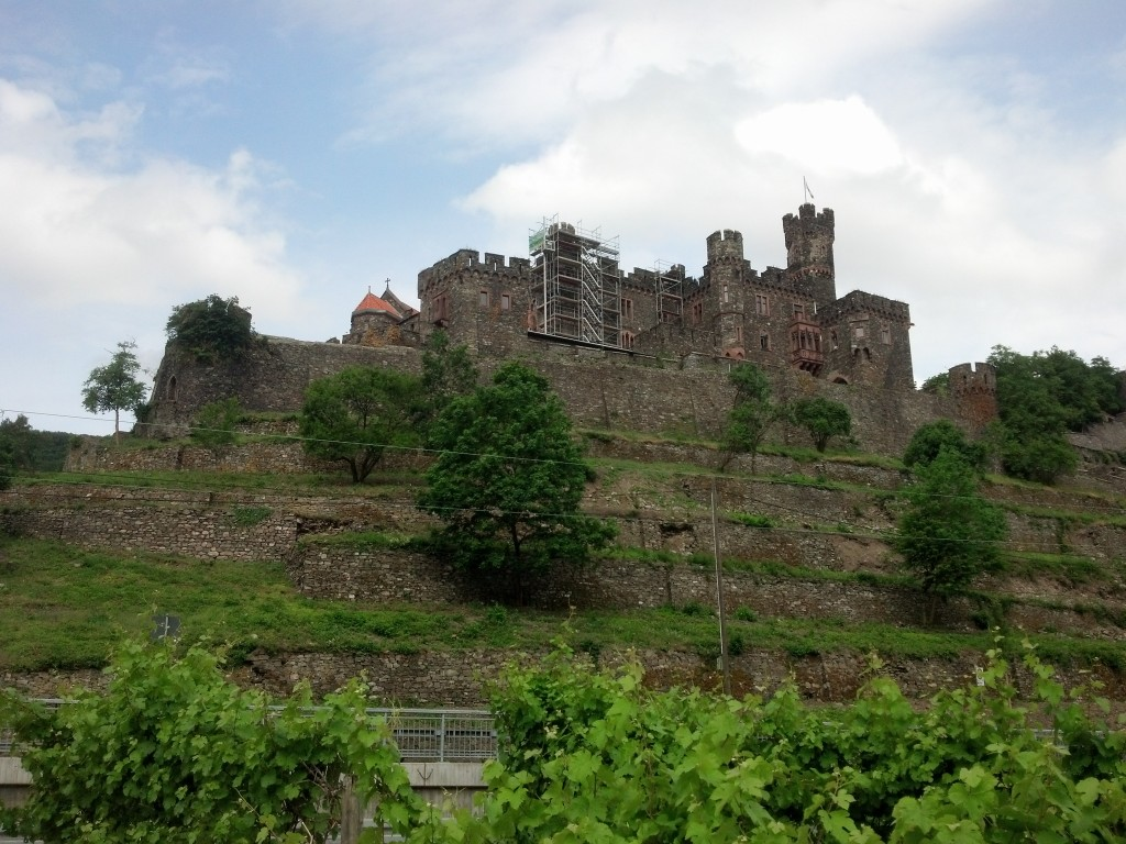 More castles along the Rhine