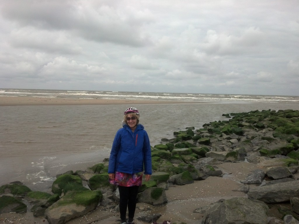 From the Alps to the North Sea, Katwijk, Holland - 823 miles