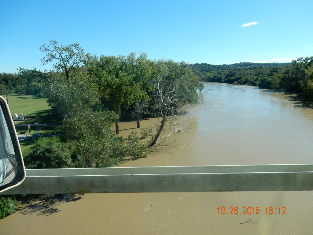 Colorado River, near La Grange, campground is on the left