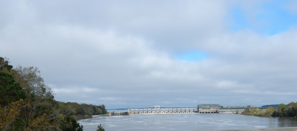 Dam on the Apalachicola River
