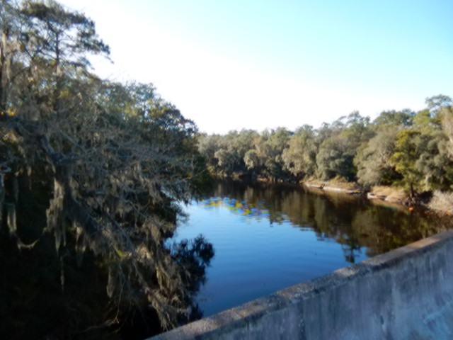 Crossing the Suwannee River outside Madison, FL