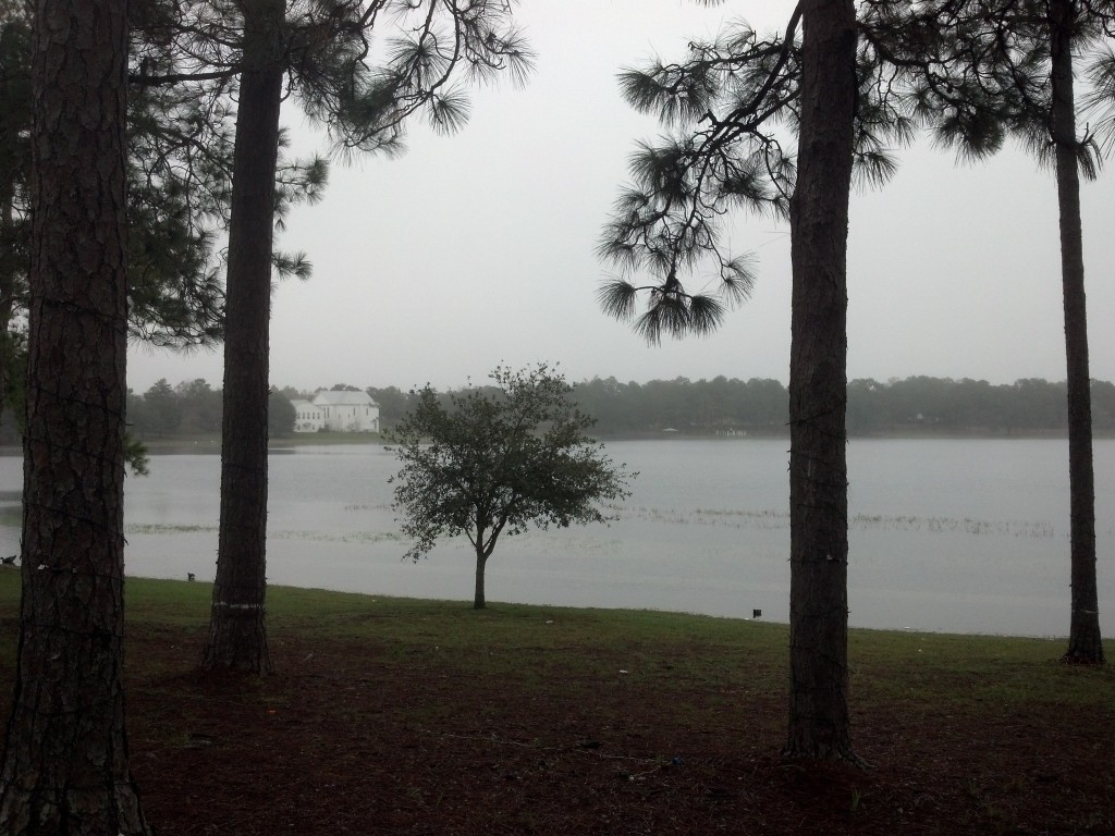 View of the lake at DeFuniak Springs