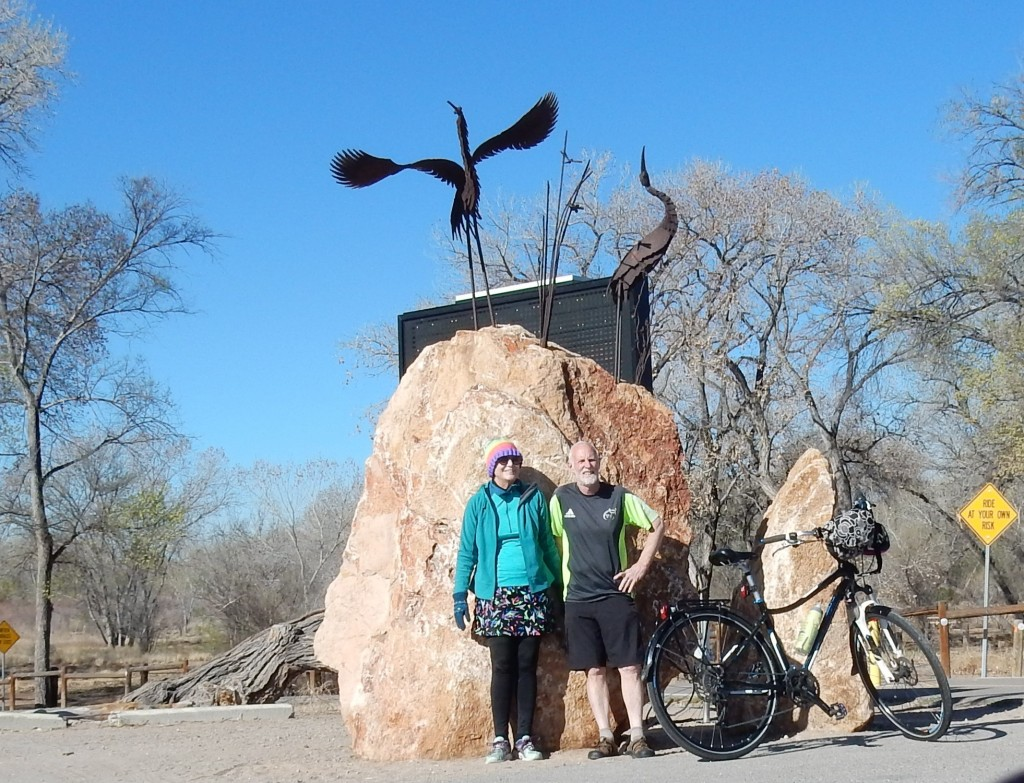Cycling the Bosque Trail in Albuquerque
