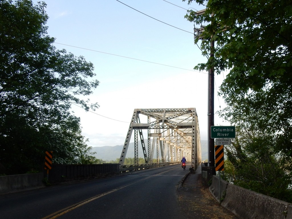 Bridge from Cathlamet to Puget Island, across part of the Columbia RIver