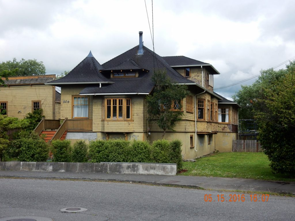 """Victorian house in Ferndale, referred to as """"Butterfat Mansions"""""""