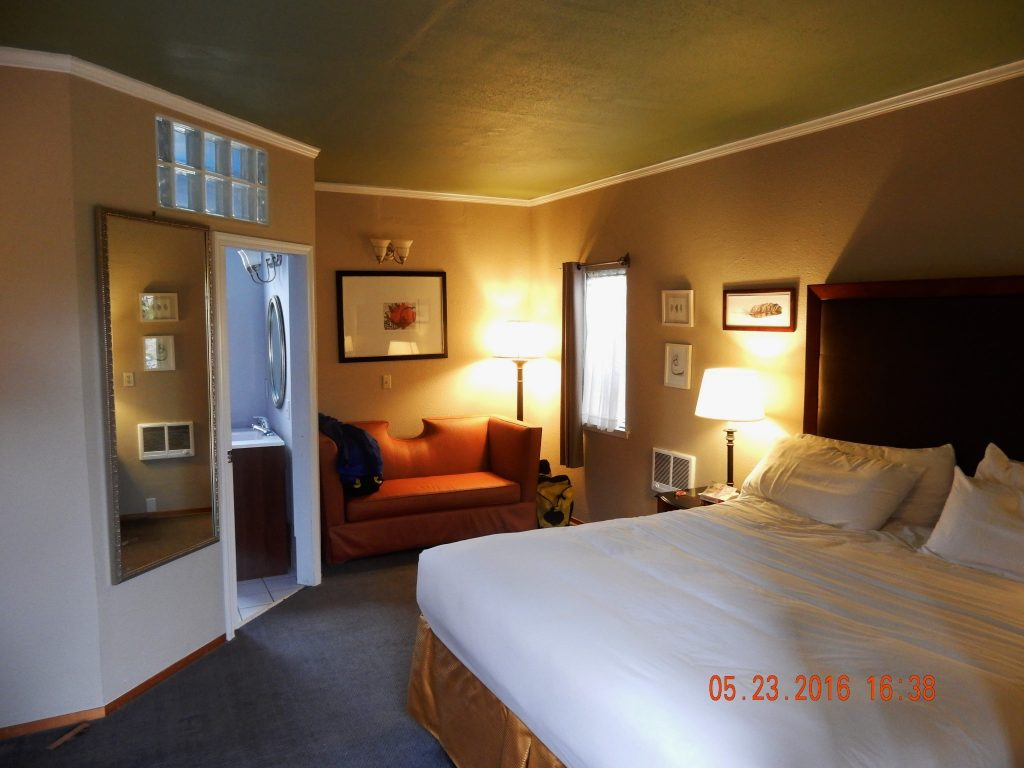 Our room - Bodega Bay Inn