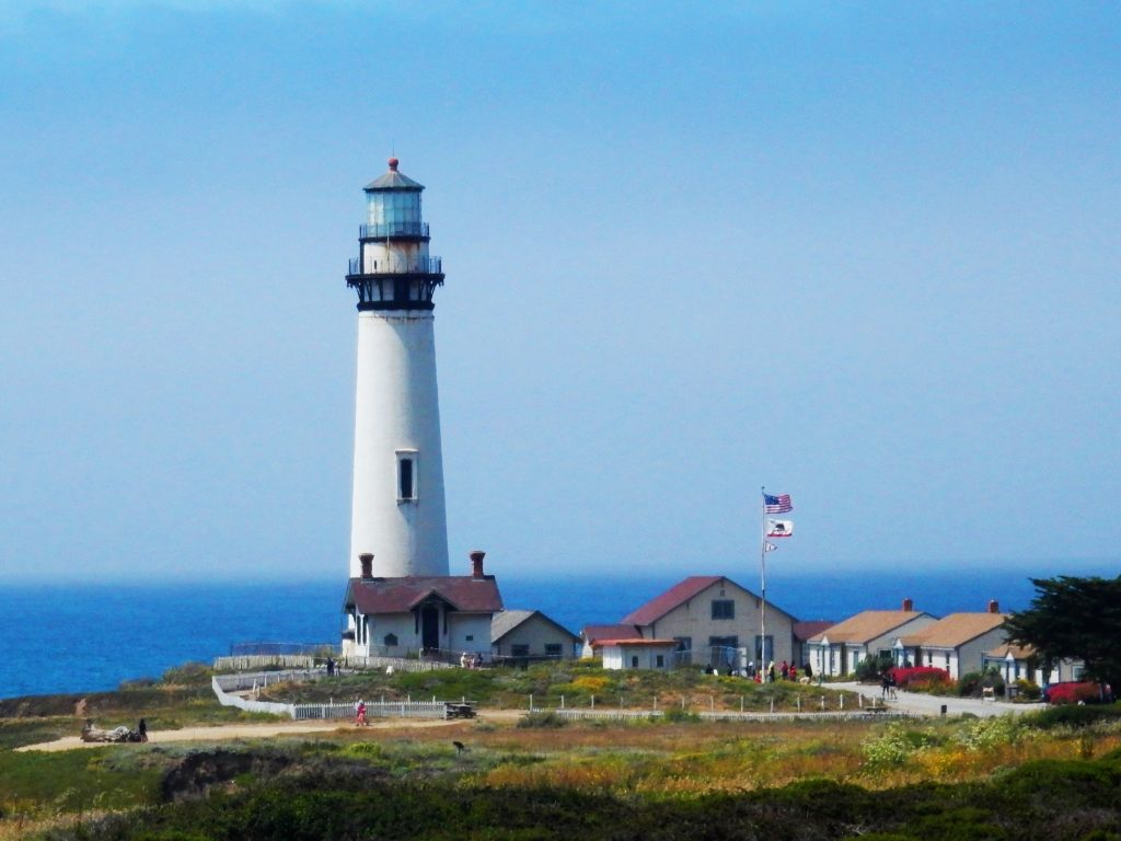 Pigeon Point Lighthouse, along our route today