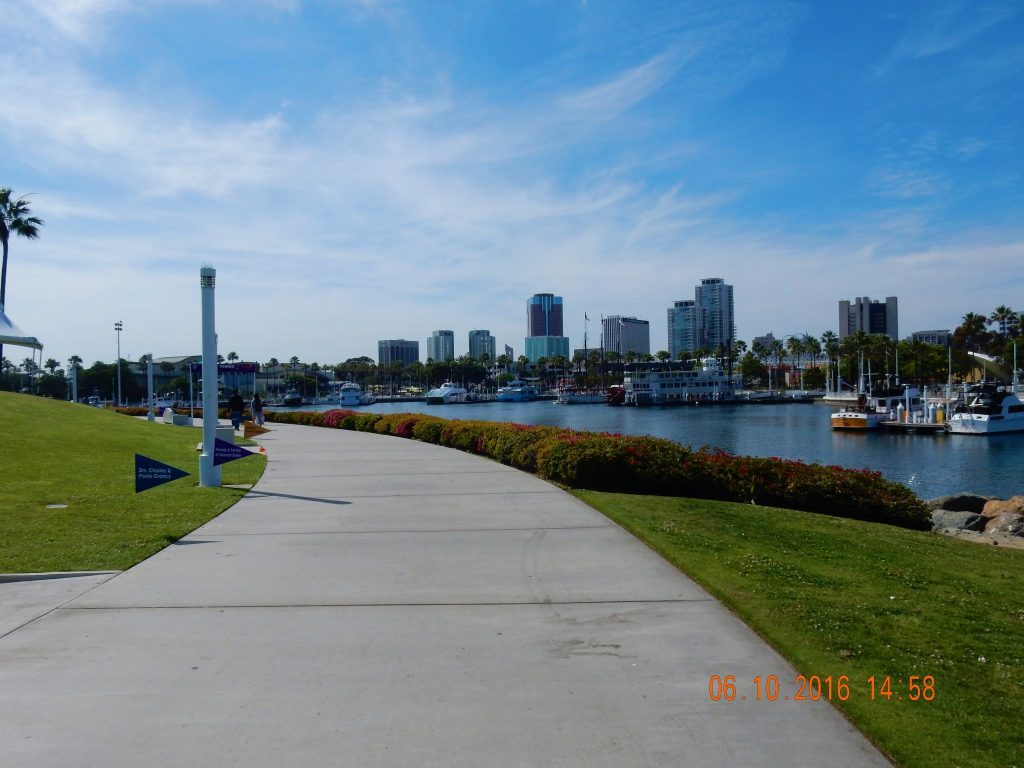 Long Beach Shoreline Path