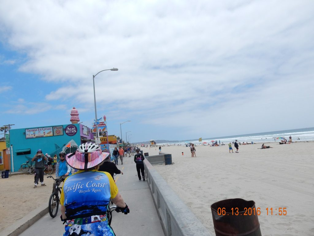 Pacific Beach Boardwalk