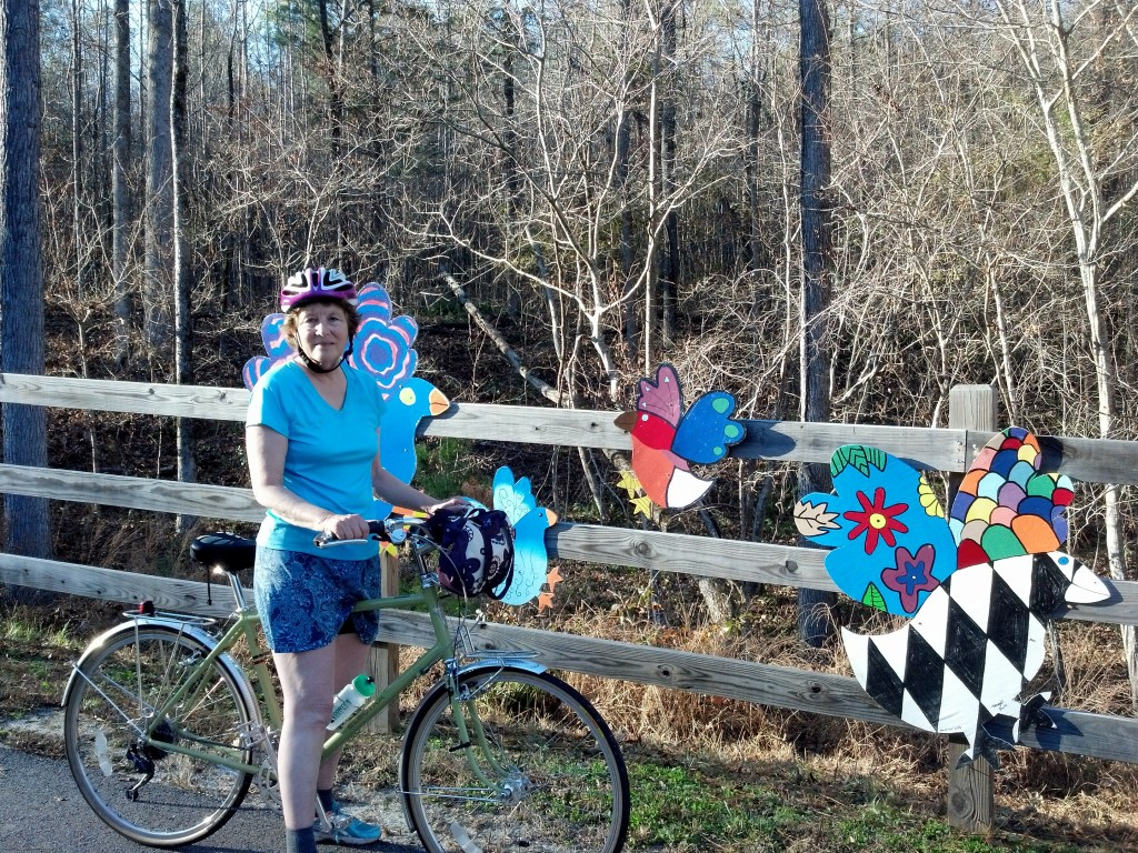 The Birds and Me, Neuse River Greenway near Raleigh NC