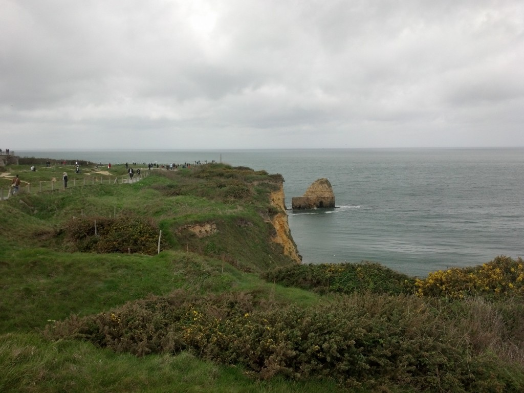 Point du Hoc - Normandy WWII  Memorial
