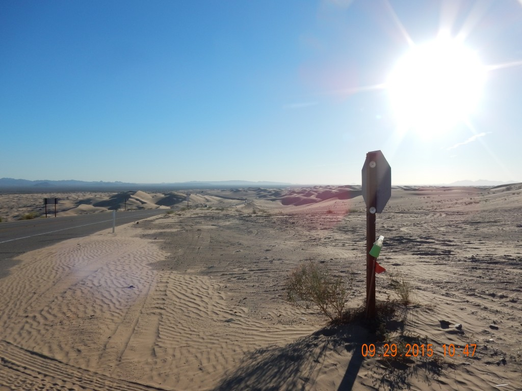 Imperial Sand Dunes, near Glamis, CA