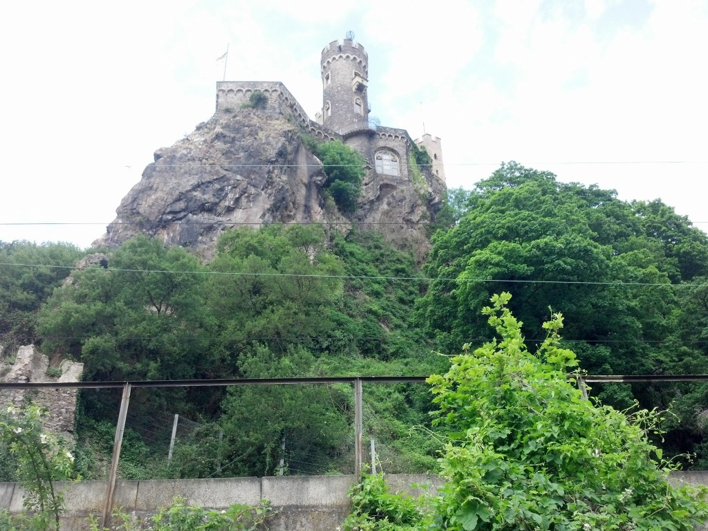 Castle in the Rhine Gorge