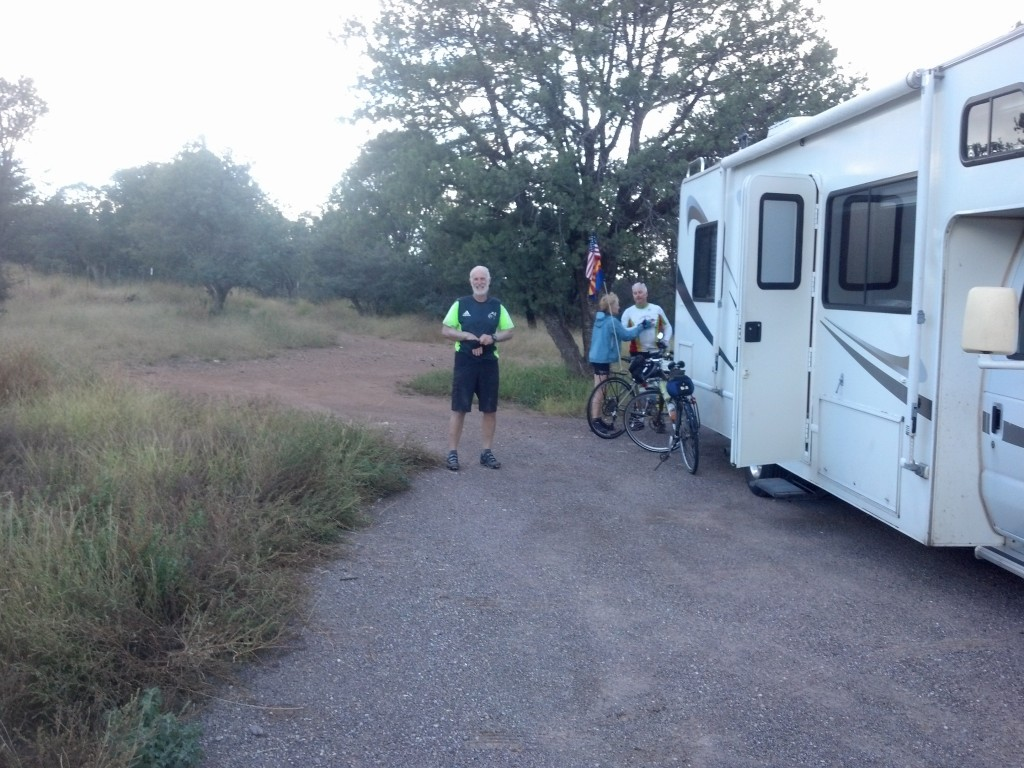 Boondocking for a night at the AZ-NM line