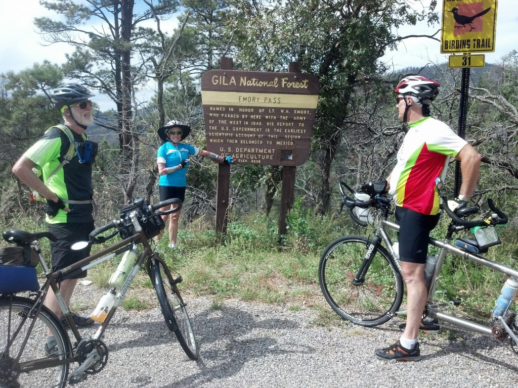 They made it, 8228 ft. Emory Pass