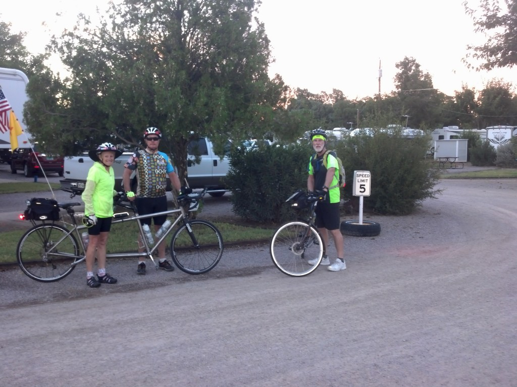 Ready to roll out of Los Cruces