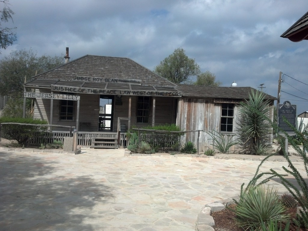 Judge Roy Bean Visitor Center - The Saloon