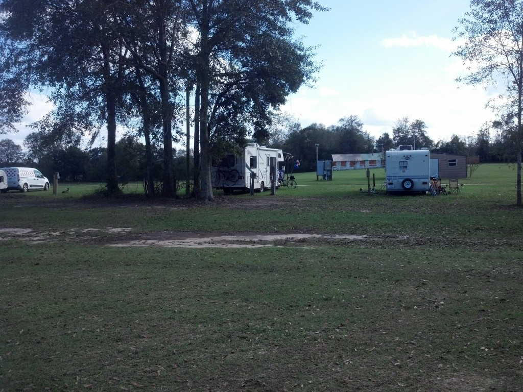 Campsite at Haas-cienda Ranch - Poplarville, MS