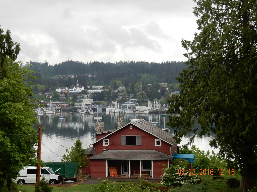 Poulsbo from across Liberty Bay