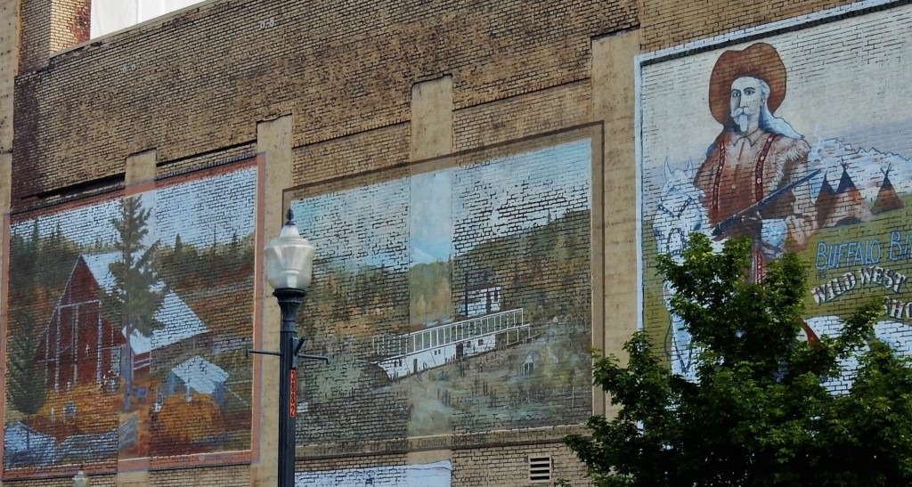 Murals in historic Centralia, Wa