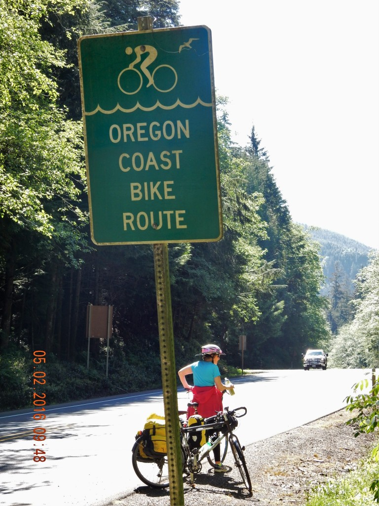 pacific coast bicycle route - day 14 - trucks, hills, and headwinds