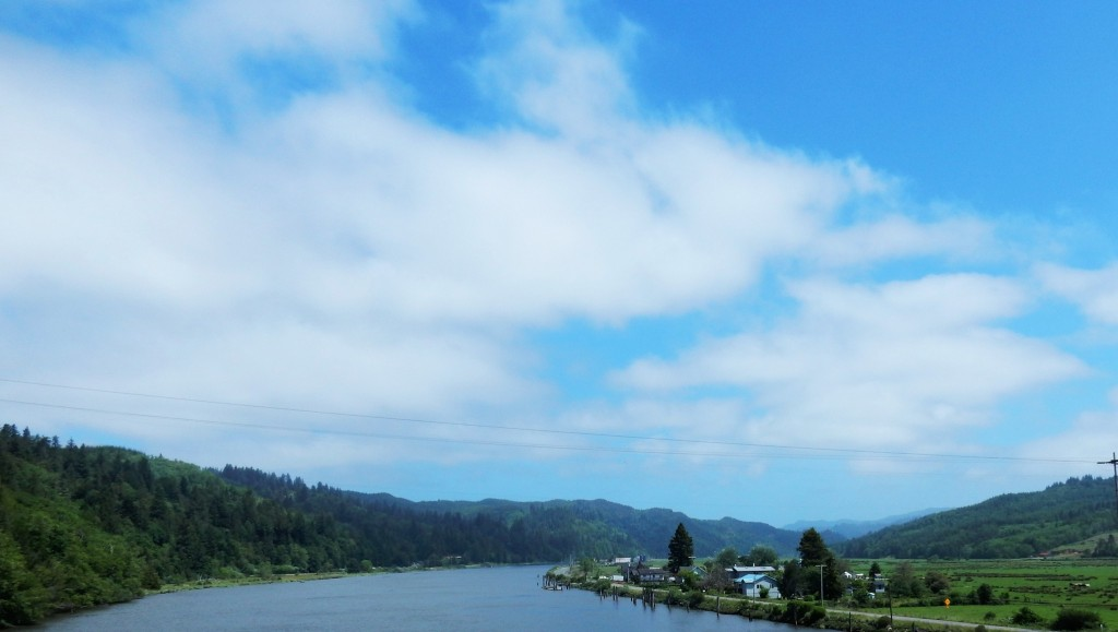 Coos Bay, alternate route