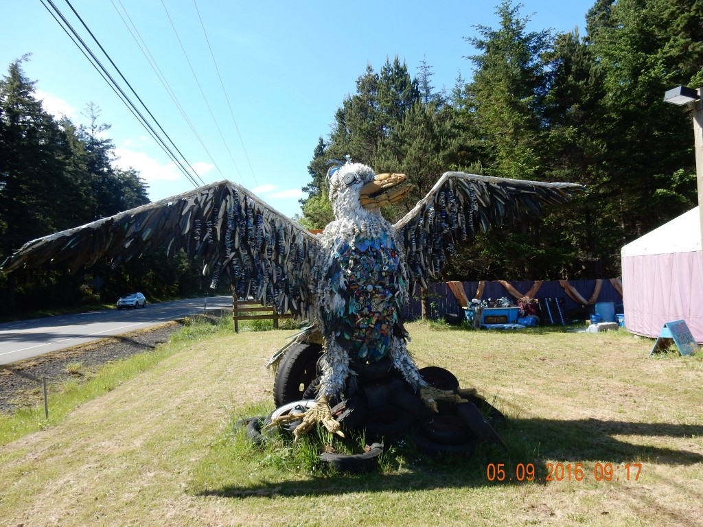 Completed eagle