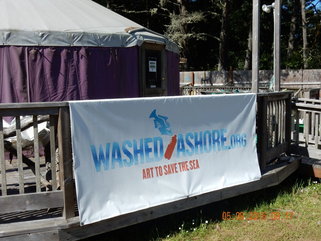 Banner for the Washed Ashore workshop