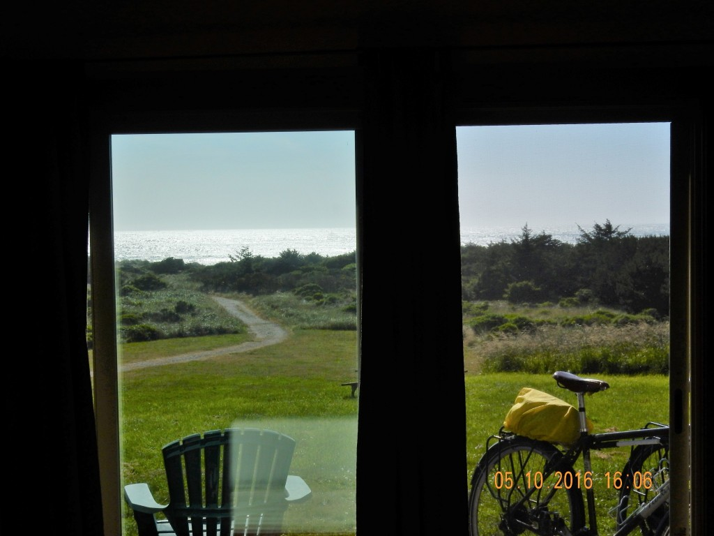View from the room, Inn of the Beachcomber, Gold Beach, OR
