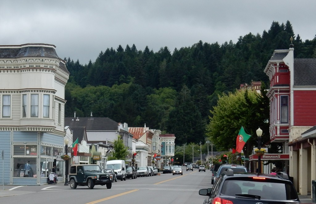 Main Street, town of Ferndale