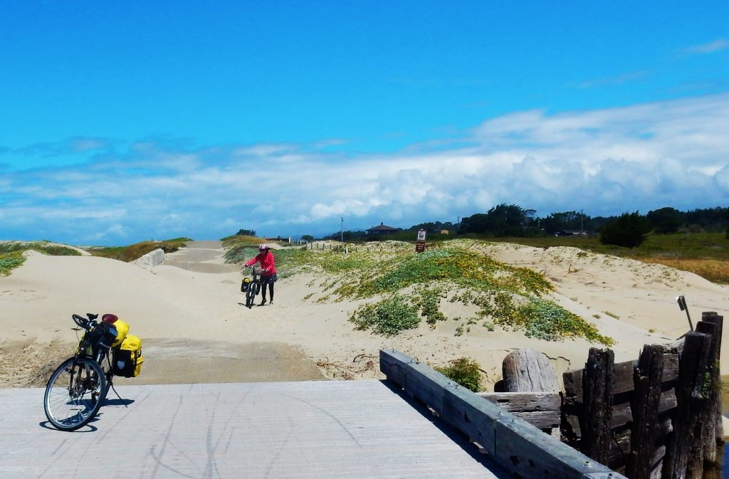They said this was a good bike trail, but we were sand-bagged!
