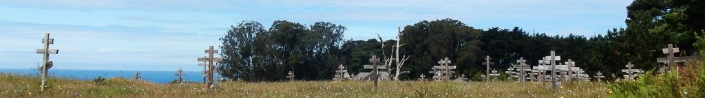 Russian cemetery at Fort Ross