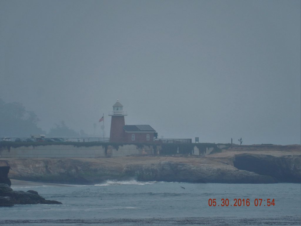 Lighthouse in Santa Cruz, now a History of Surfing Museum