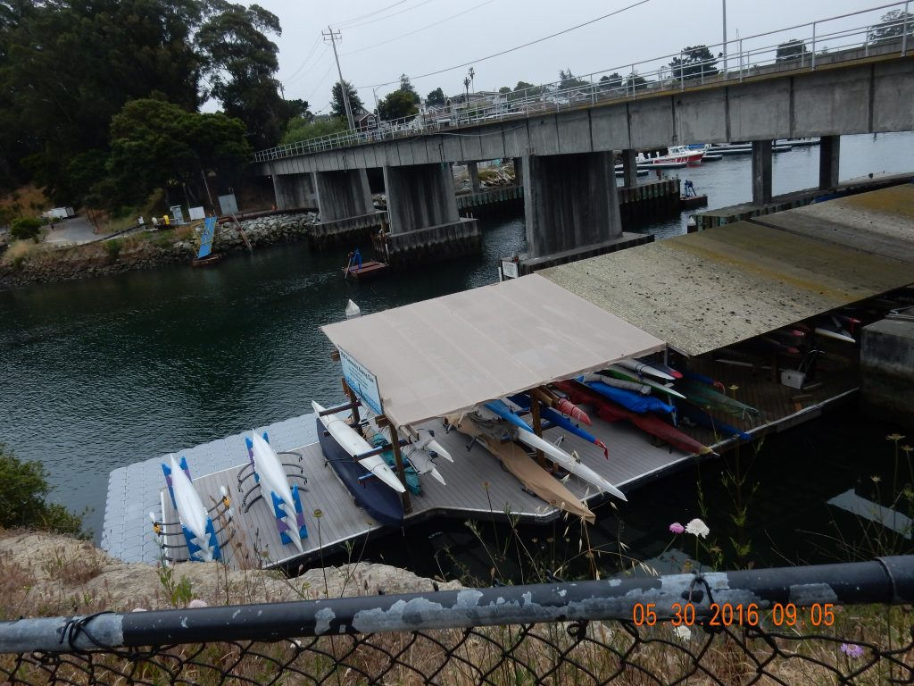 part of Santa Cruz Harbor
